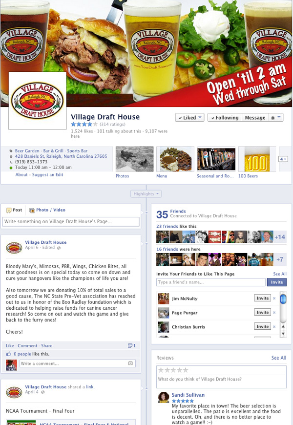 village-facebook